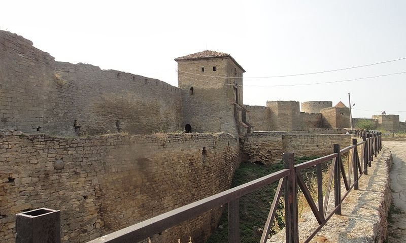 Entrance to the fortress