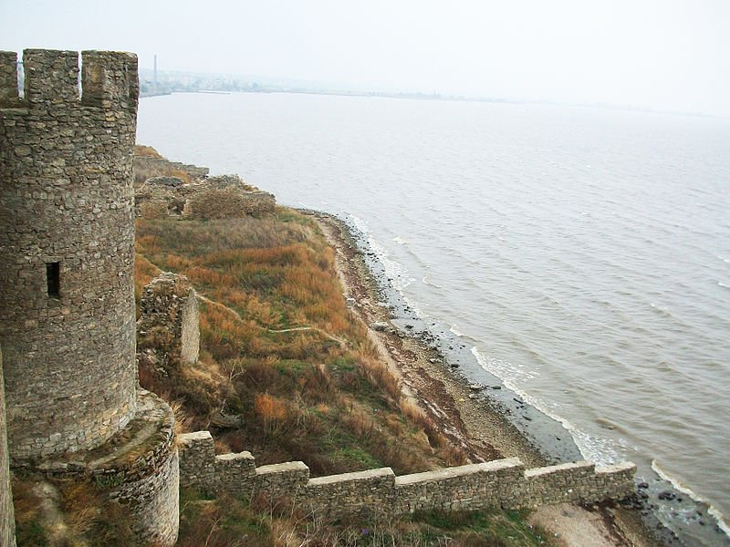 View of the estuary from the fortress walls