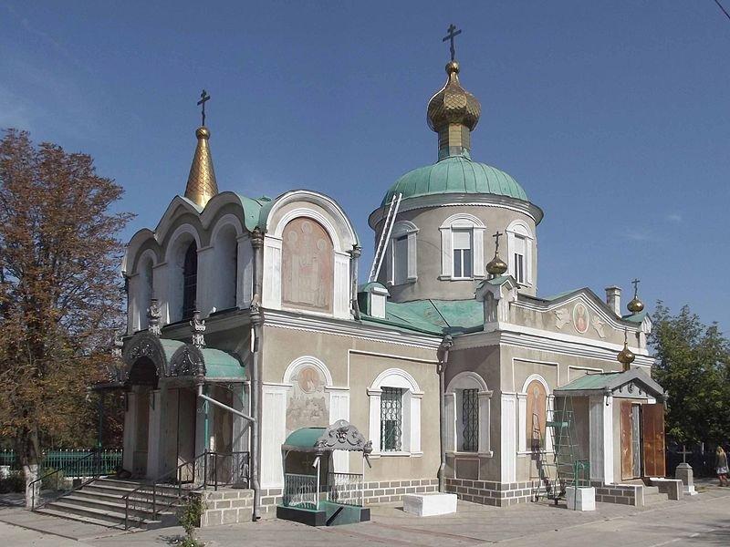 Catedral de San Nicolás en la ciudad de Bilhorod-Dnistrovs'kyj