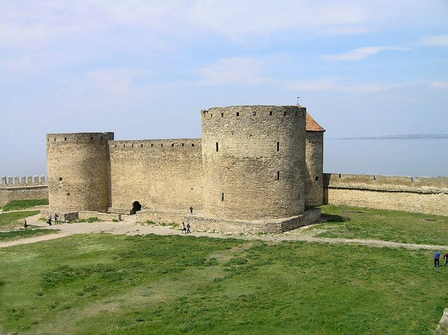 View of the citadel from the middle