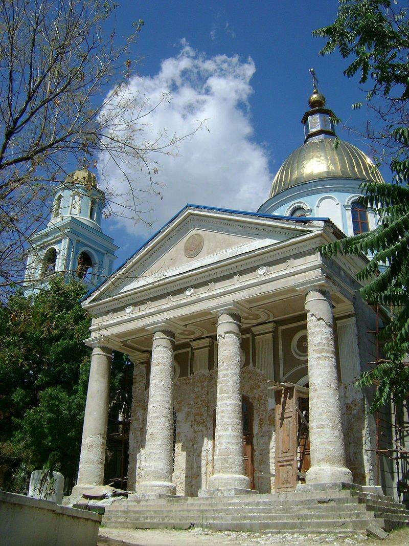 Catedral de la Ascensión en la ciudad de  Bilhorod-Dnistrovs'kyj