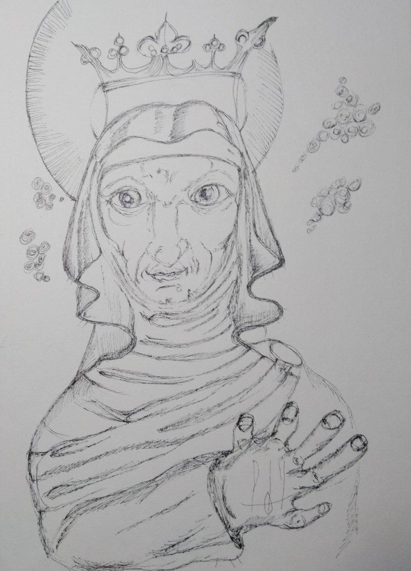 Santa Olga de Kyiv. Abuela de San Volodymyr El Grande, suegra de Malusha