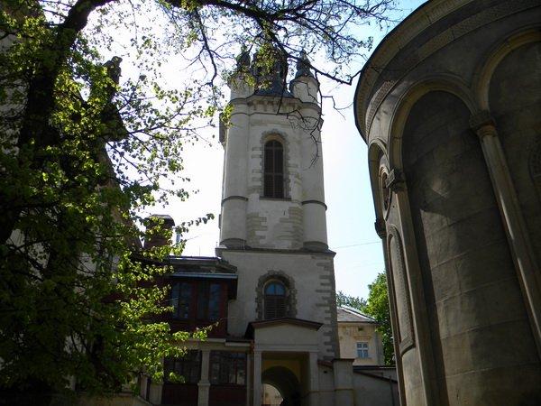 Ucrania mapa - Iglesias de Lviv 1