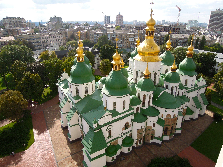 Ucrania mapa - Santa Sofía
